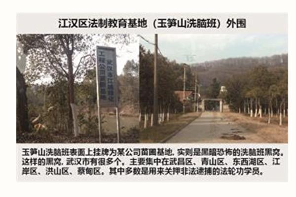 武漢市玉筍山「洗腦班」 藥物摧殘人的惡行