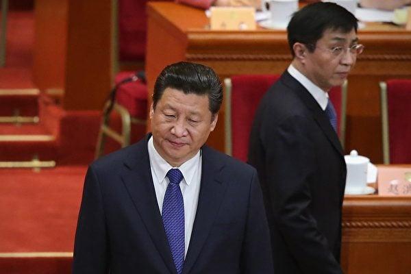 習近平正一步步陷入江澤民派系設下的危局 。(Feng Li/Getty Images)