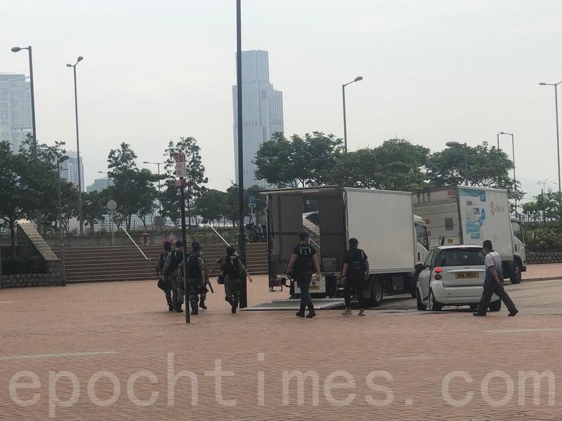 港民反國歌惡法 警發橡膠彈及胡椒球彈驅散