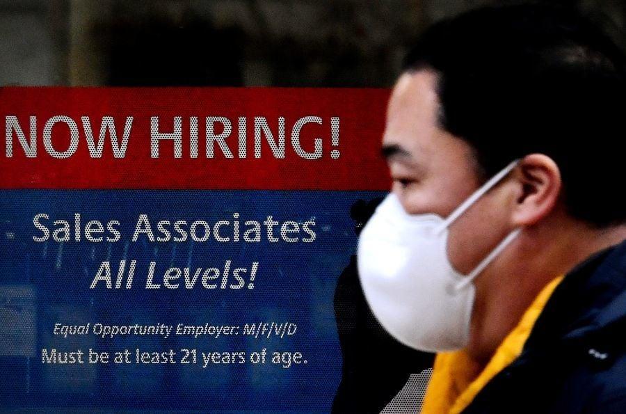 美首領失業金人數創疫期新低 招聘續增