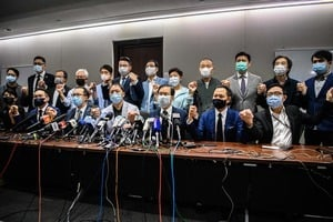 五眼聯盟齊聲譴責中共 要求港府恢復議員資格