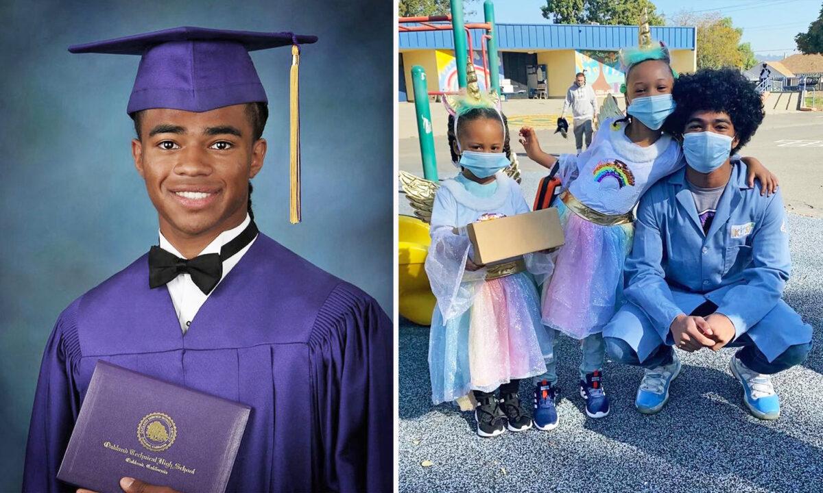 美國加州18歲優秀高中生艾哈邁德·穆罕默德(Ahmed Muhammad)收到了他所申請的11所大學的錄取通知書,日前他在電視直播中表示,他決定留在灣區,選擇就讀史丹福大學。(艾哈邁德提供)