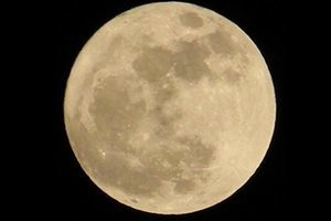 本世紀最大的「超級月亮」將出現