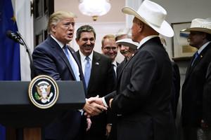 特朗普宣佈與歐盟達成協議 增加美牛肉出口