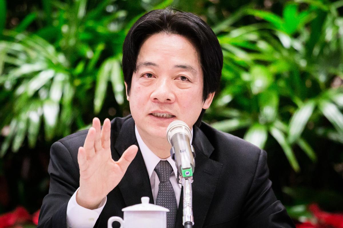 對於逾百萬香港民眾上街反對《逃犯條例》修正案,中華民國前行政院長賴清德12日發表五點聲明,呼籲中共政權不可一意孤行。圖為資料照。(陳柏州/大紀元)