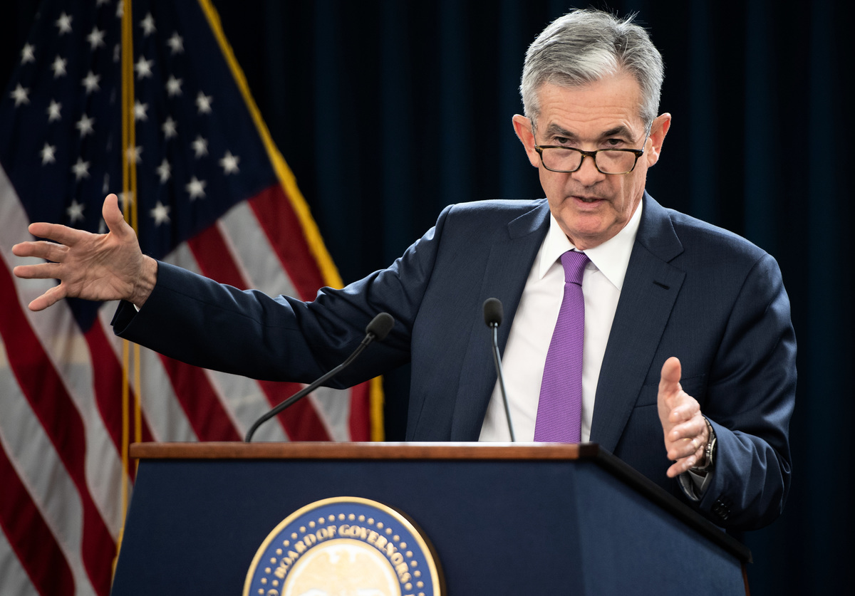 美聯儲(Fed)主席鮑威爾(Jerome Powell)。圖為資料照。 (AFP)