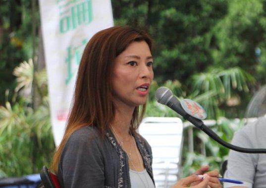 香港足球總會前董事梁芷珊8月15日凌晨在臉書發長文,力撐抗爭者。資料圖。(大紀元)