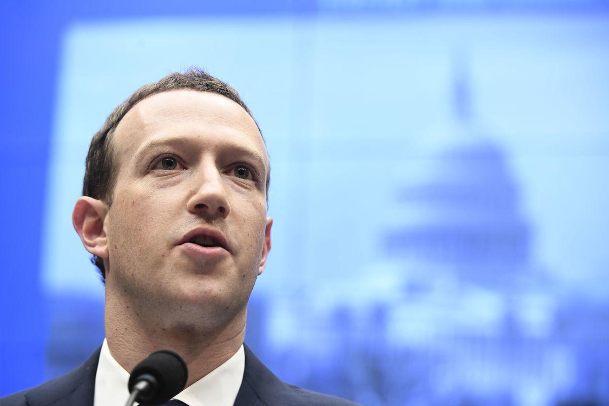 圖為面書行政總裁馬克·朱克伯格(Mark Zuckerberg)。(攝於2018年4月11日)(SAUL LOEB/AFP via Getty Images)