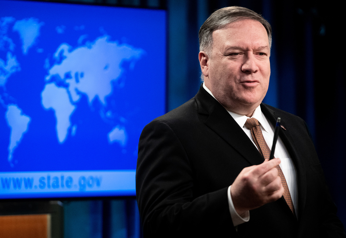 美國國務卿邁克·蓬佩奧(Mike Pompeo)日前表示,美國將繼續做出外交努力,以實現北韓無核化目標。圖為蓬佩奧。(SAUL LOEB/AFP/Getty Images)