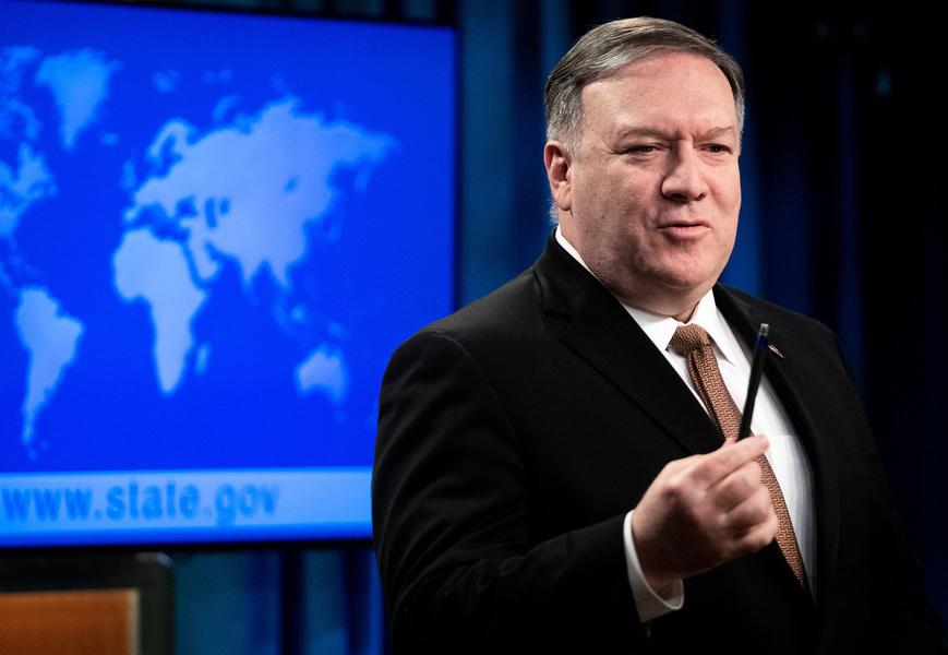 蓬佩奧:我的團隊繼續和北韓進行外交對話