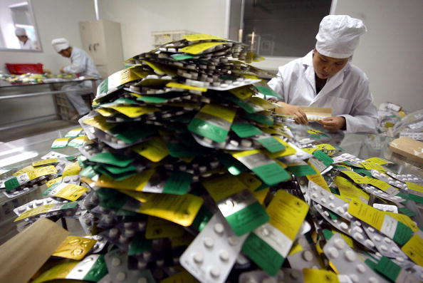 廣西桂林製藥廠。(此圖與本文無關,為示意圖)(FREDERIC J. BROWN/AFP/Getty Images)