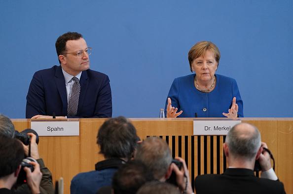 德國總理首談中共肺炎 境內第三人死亡