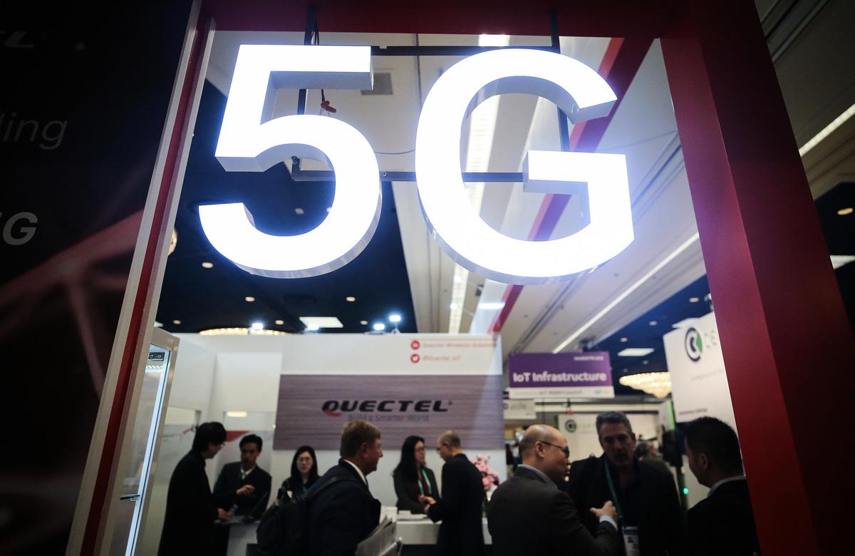 圖為2020年1月8日在拉斯維加斯會議中心舉行的2020年國際消費電子展。(Mario Tama/Getty Images)