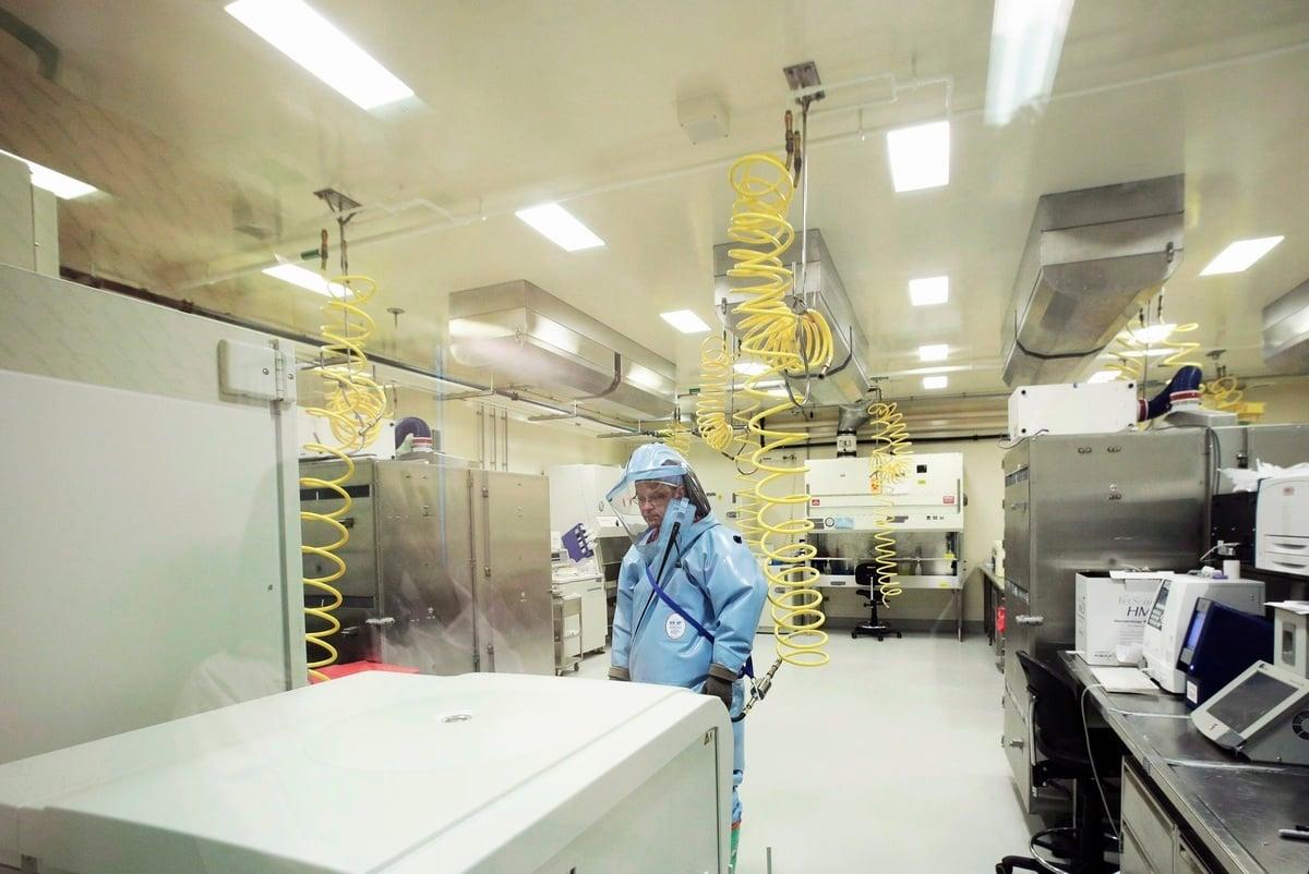 位於溫尼泊的國家微生物實驗室是加拿大唯一的P4實驗室。(Lyle Stafford/加通社)