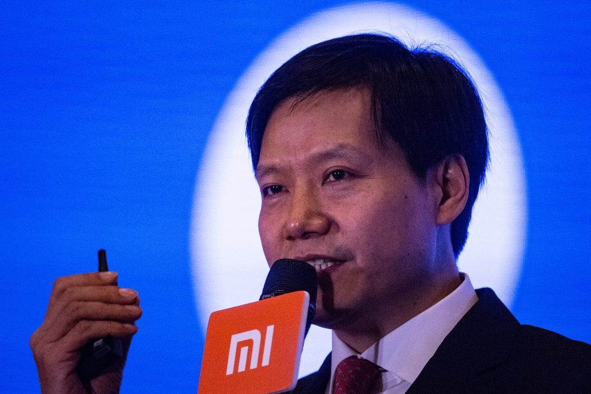 中國智能手機製造商小米公司董事長兼行政總裁雷軍。圖為資料照。(AFP)