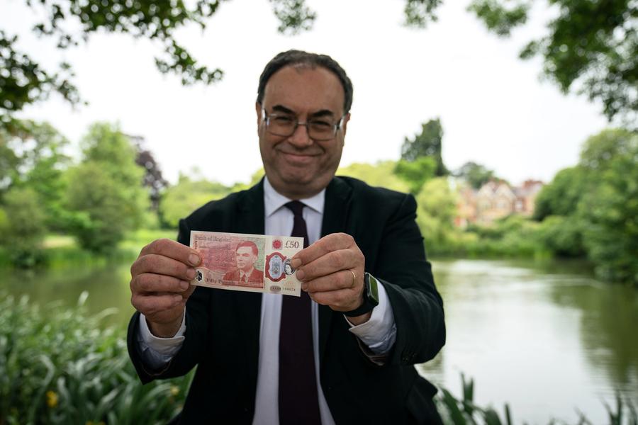 英國發行新版50英鎊鈔票 已於市面始流通 (多圖)