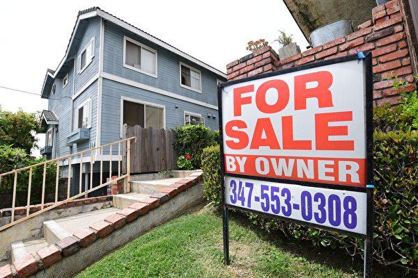 加州的一處待售房產。(FREDERIC J. BROWN/AFP via Getty Images)