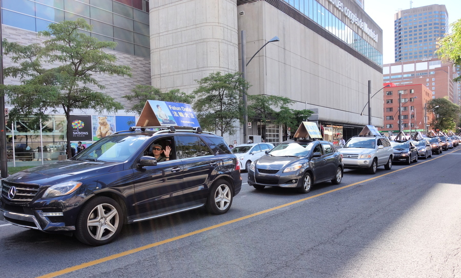 加滿地可汽車遊行傳真相 民眾:做得好!