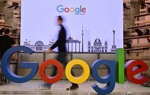 談中共病毒疫情就黃標?谷歌回應引網友反諷