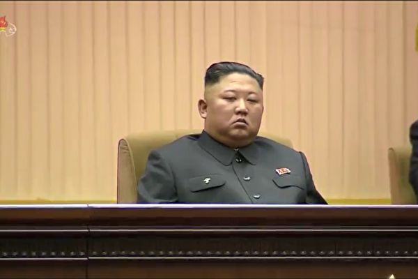 金正恩資料圖。(北韓中央電視台截圖)