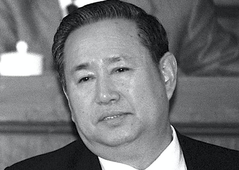 支持中共六四屠城的中共前副總理姜春雲死亡