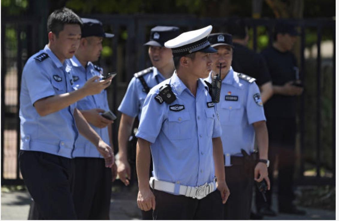 中國警察辦案搞錢現象氾濫。(Getty Images)