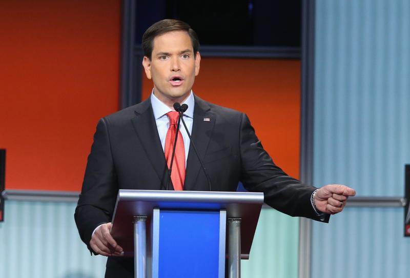 美國佛州國會參議員馬可·魯比奧(Mark Rubio)。(Scott Olson/Getty Images)