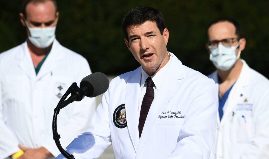 白宮醫生:特朗普痊癒 周六可重返公共場合