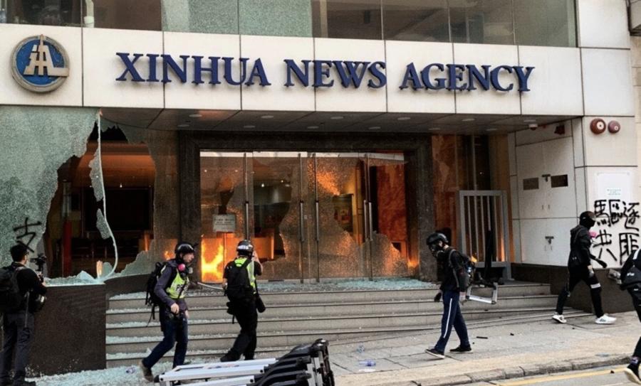 【唐青看時事】新華社管全球 中共顛覆美新聞界