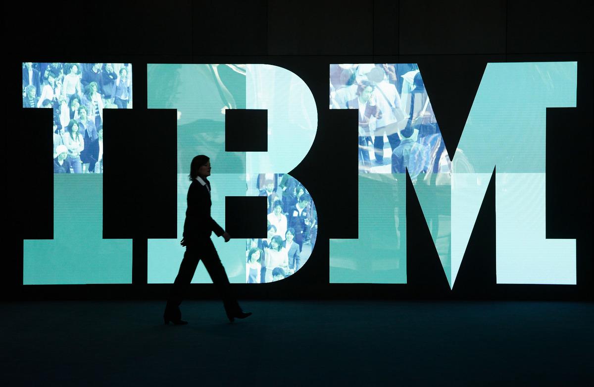 知情人士透露,中共黑客入侵惠普(HPE)及IBM的網絡,然後利用這些網絡攻擊該等公司客戶的電腦。(Sean Gallup/Getty Images)