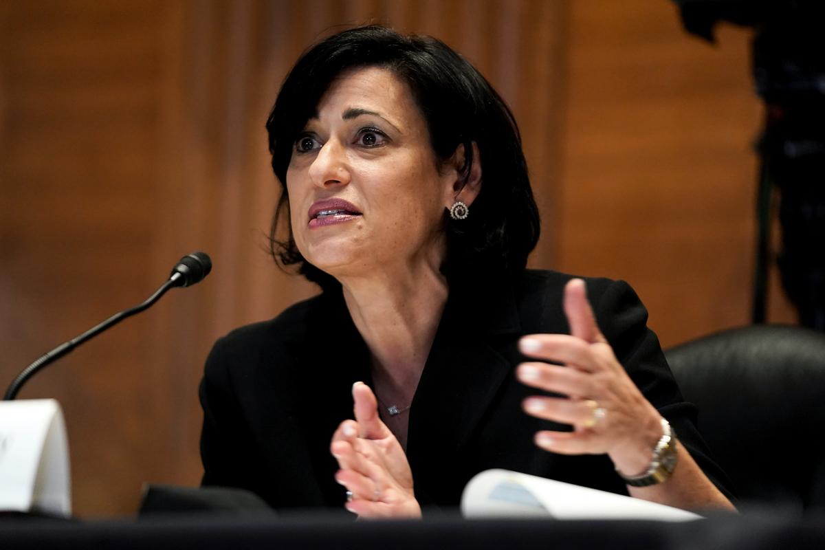 美國疾病控制和預防中心(CDC)主任瓦倫斯基(Rochelle Walensky)。(Greg Nash-Pool/Getty Images)