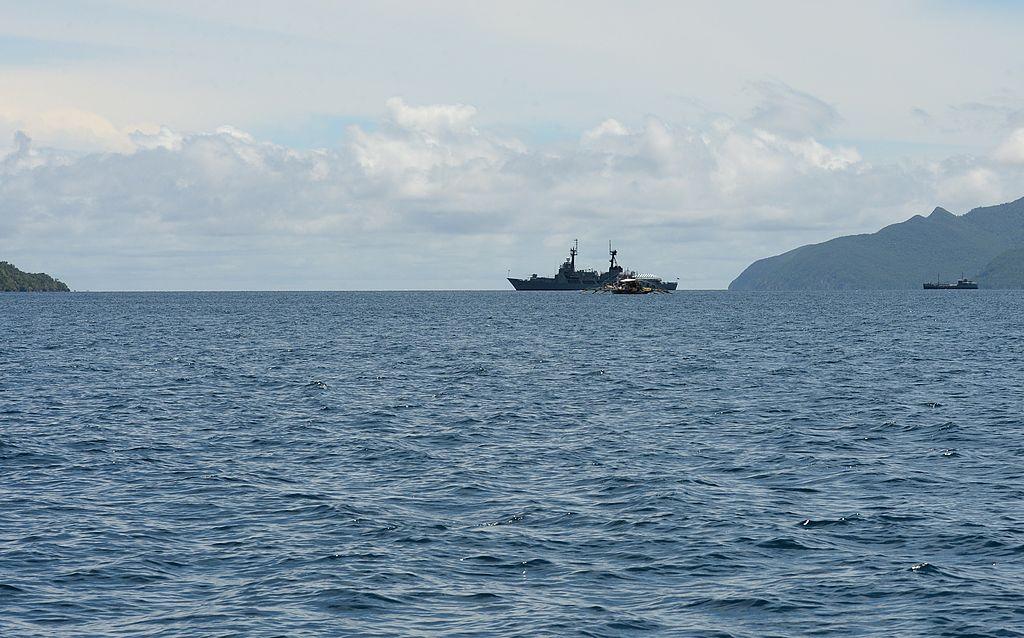 菲律賓西部島嶼巴拉望(Palawan)省附近海域。(TED ALJIBE/AFP via Getty Images)