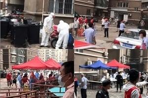 【一線採訪】中共病毒疫情蔓延 北京最大小區現病例