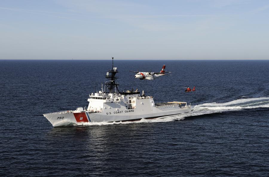對抗中共漁業騷擾 美國西太平洋部署巡防艦