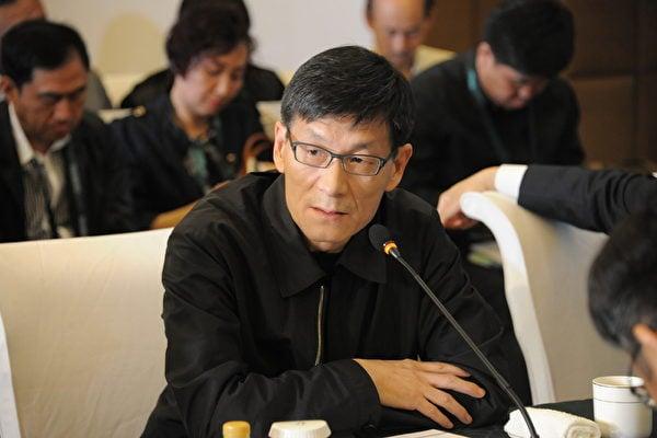 中共前總理朱鎔基之子、中金公司前CEO朱雲來。(大紀元資料室)