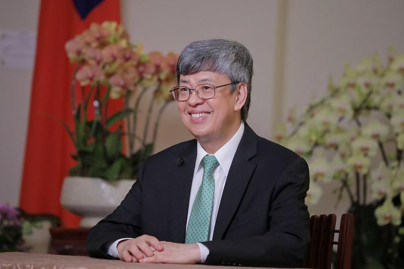 中華民國副總統陳建仁。(總統府網站提供)