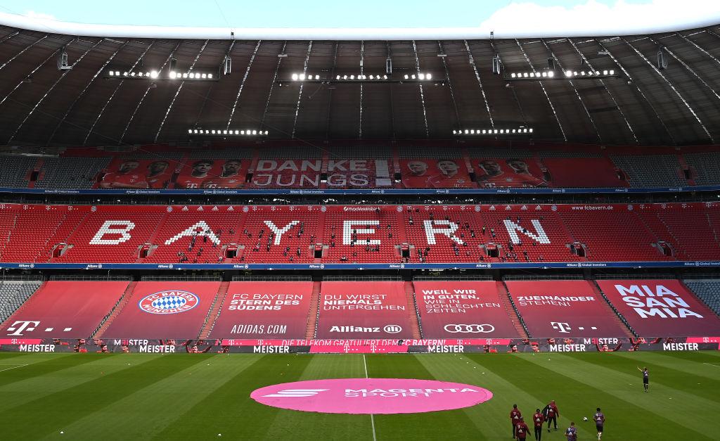 歐錦賽德國預賽即將在慕尼黑開戰,屆時每場有1.4萬球迷現場觀看。(Sven Hoppe-Pool/Getty Images)