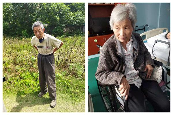 王宇的父親王金泉和母親管瑞華。(受訪者提供)