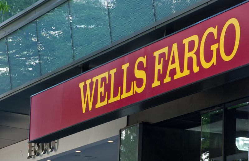 出於社交應用程式安全性的考慮,富國銀行(Wells Fargo&Co.)表示,將要求員工從公司手機中刪除TikTok。(AFP PHOTO/Nicholas KAMM)