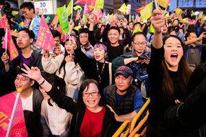 白宮官員:賀蔡總統連任 台灣是美重要夥伴