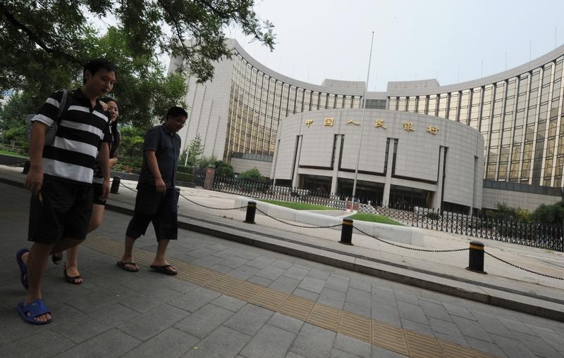 中共近日要求銀行讓利1.5萬億元支持企業,中共銀行保險監督管理委員會要求銀行業今年的獲利增幅不得超過10%。(AFP)