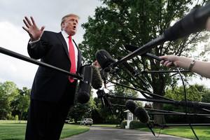 美軍無人機遭擊落 特朗普:幹這事的人很蠢