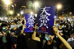 王友群:中共在港逆天行 自作孽 不可活