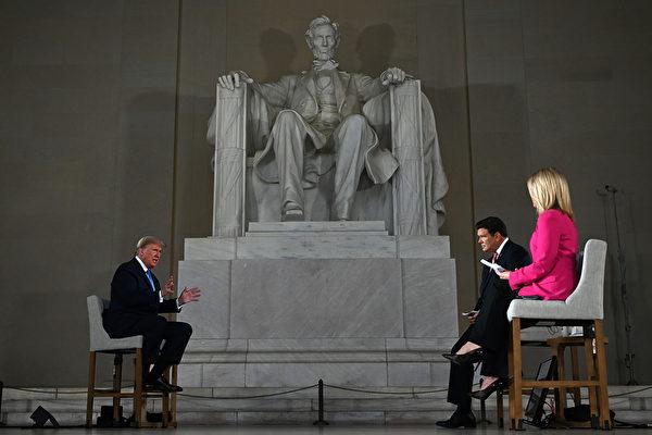 美國總統特朗普5月3日表示,他認為中國(中共)犯的一個「錯誤」,是冠狀病毒(中共病毒)大流行蔓延的原因。(JIM WATSON / AFP)
