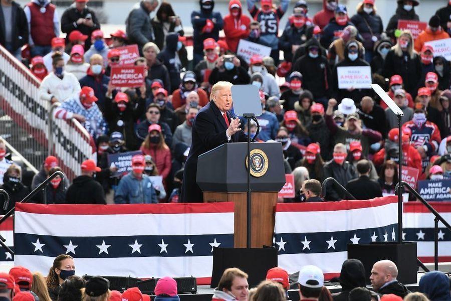 競選最後衝刺 特朗普再抨擊中共對美國的危害