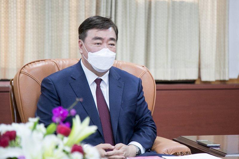 中共駐韓大使邢海明(群山市政府網站)
