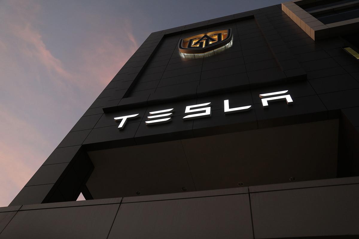 特斯拉Model 3的大陸產品正陷入「換芯門」,一些車主正在收集證據準備集體上訴。圖為電動車製造商特斯拉。(Joe Raedle/Getty Images)