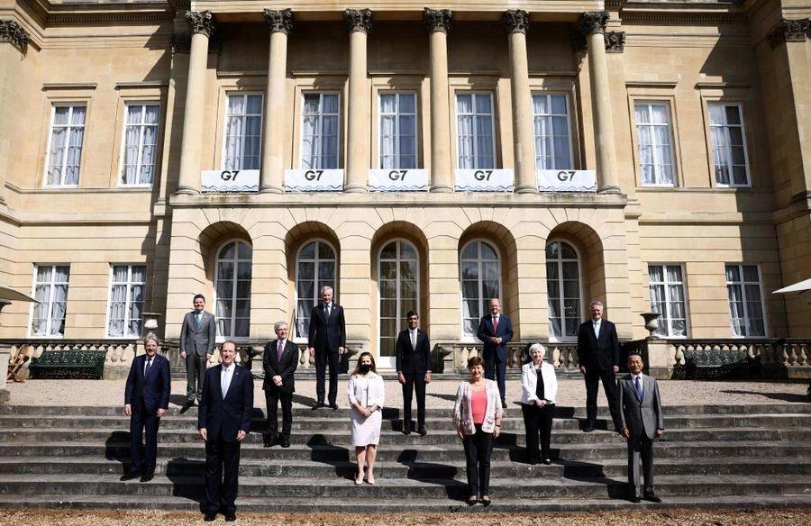 G7財長就全球稅務改革達成歷史性協議