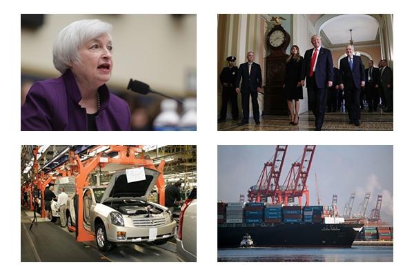 2016年即將進入尾聲,用「有驚無險」但「憂患未除」來形容這一年來的金融情勢或許較為貼切。為了鑑往知來,大紀元特別歸納了2016年十大財經要聞供讀者參考。(大紀元合成圖)