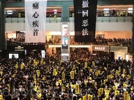 【8.5反送中組圖2】三罷反送中 全港示威集會遍地開花